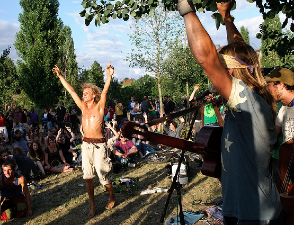 Mauerpark ¡un festival garantizado cada domingo!