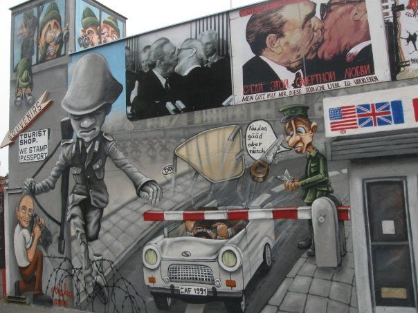 Fuga Heinz Meixner East Side Gallery