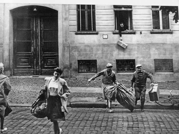 Resultado de imagen para alemania fuga del este