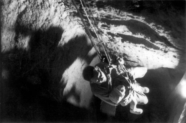 fuga del muro de Berlín por túnel