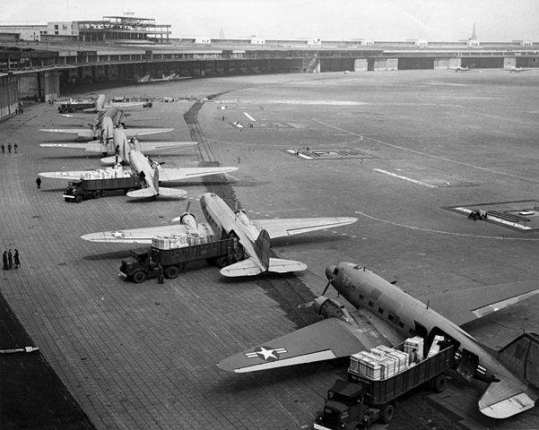 Puente aéreo Berlín Tempelhof