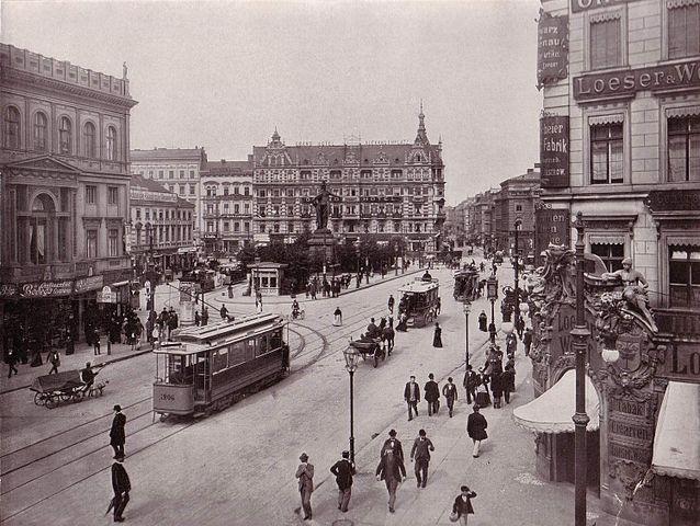 Alexanderplatz Berlin en 1903