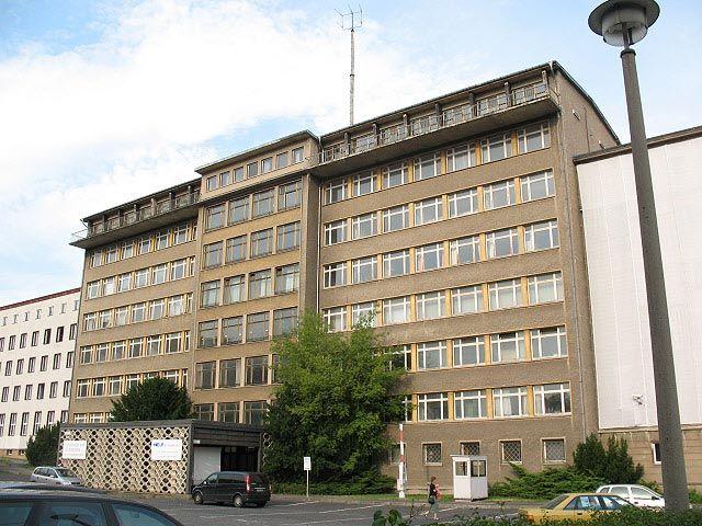 Antigua sede de la Stasi en Berlín