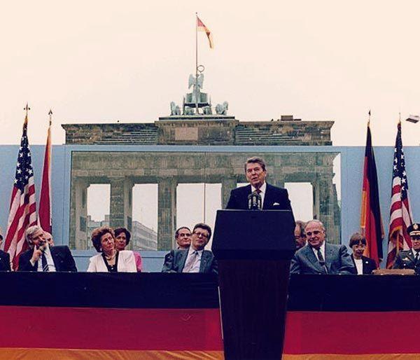 Discurso Reagan Muro Berlín