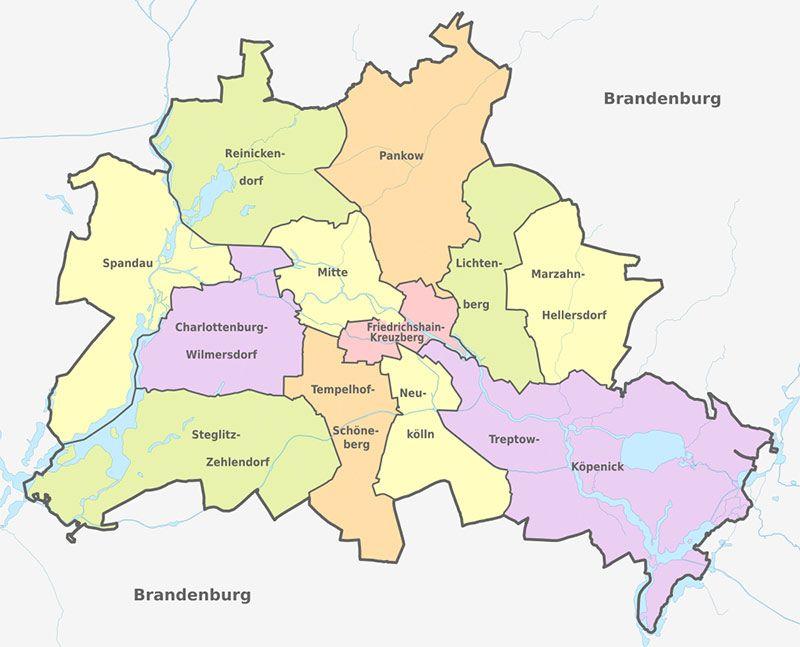 Berlín Stadteile