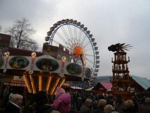 Mercadillo navideño en Alexanderplatz